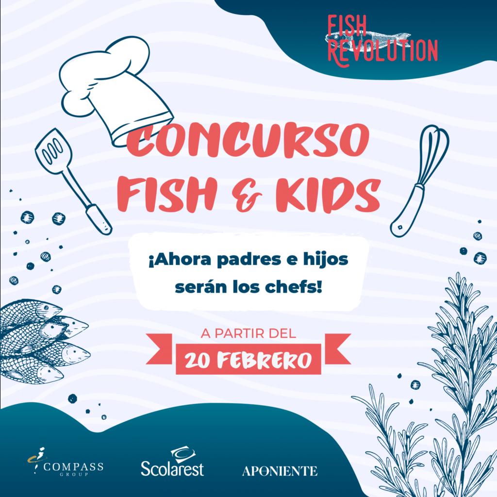 Fish & Kids, el concurso de cocina infantil para ser como el Chef del Mar